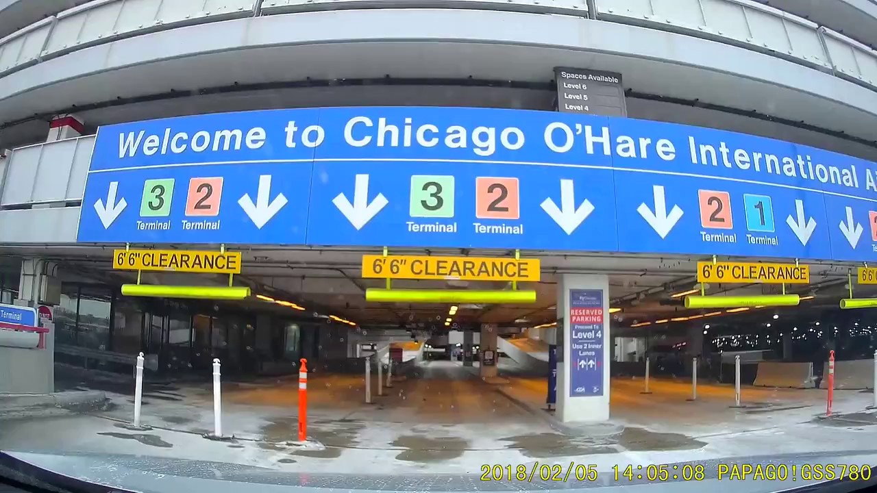 Parking O Hare International Airport Ord