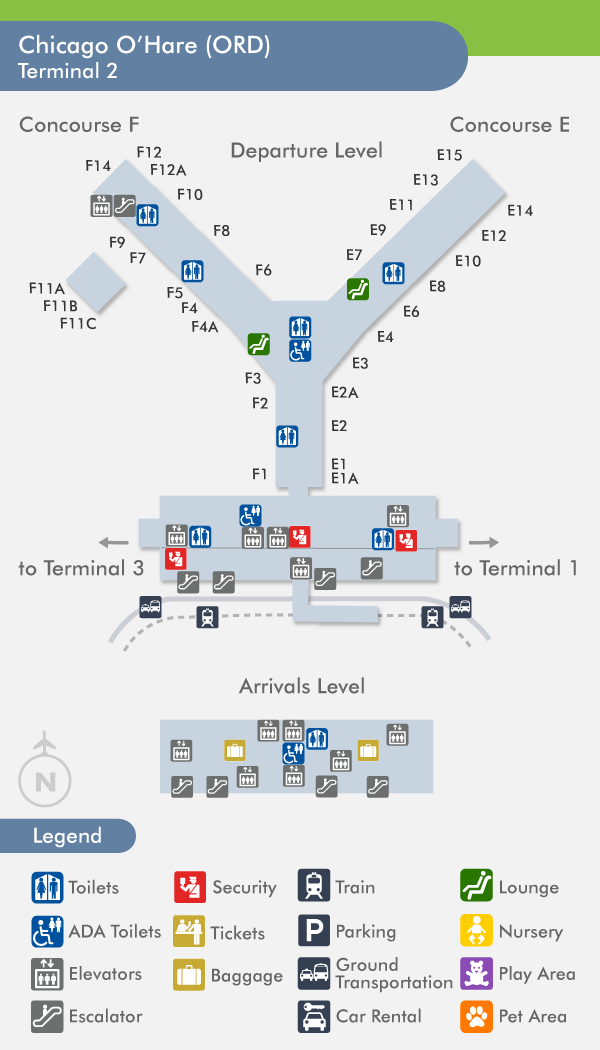 How to Navigate Across Terminal at O\'Hare International Airport